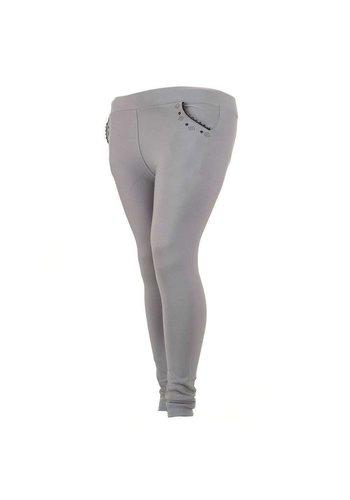 HOLALA Pantalon Femme - Gris