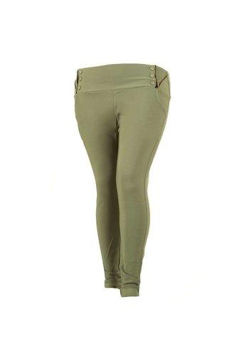 HOLALA Pantalon femme Holala - vert