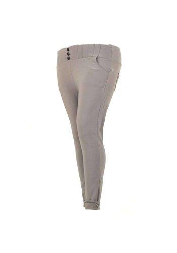 HOLALA Pantalon femme Holala - gris