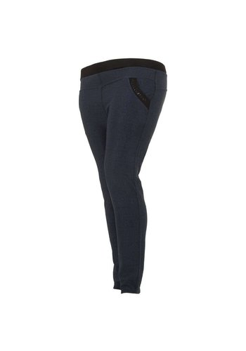 HOLALA Pantalon Femme - bleu
