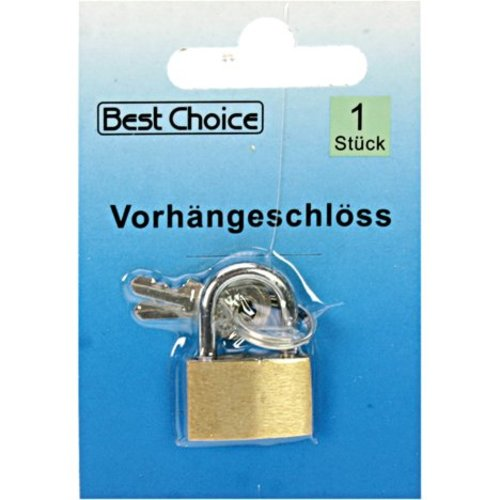 Best Choice Cadenas 2,5x1,5cm Laiton