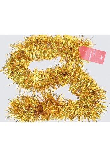 Neckermann Kerstslinger - goud - 200cm x 10cm - XXL