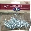 Neckermann ScKerstboomhaakjes - zilver - 50 stuks