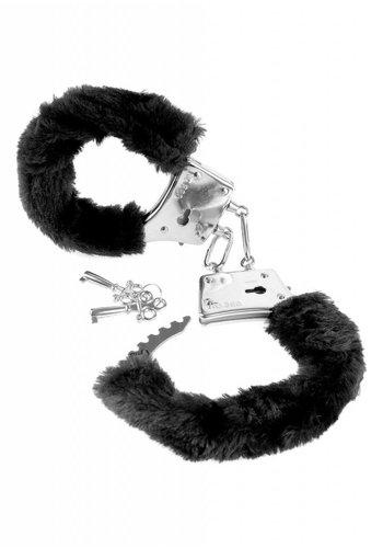 Pipedream Pelz-Handschellen des Einführers