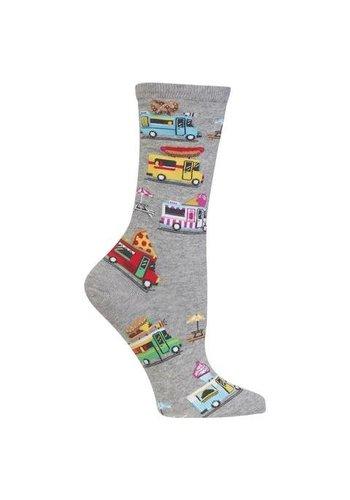 Hotsox Chaussettes pour dames - camion de glace - taille 9-11