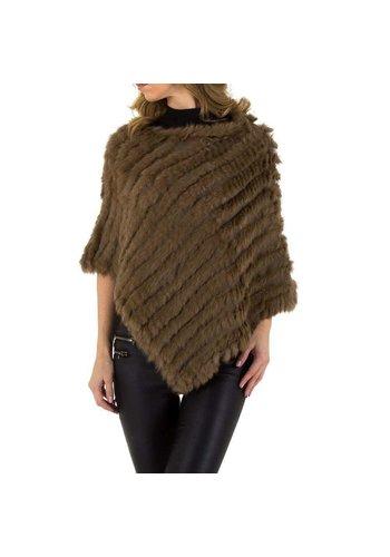 HOLALA Dames vest van Holala Gr. een maat - bruin