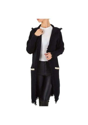 Voyelles Dames vest van Voyelles Gr. één maat - zwart