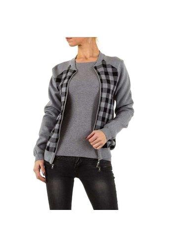 MOEWY Damenjacke von Moewy Gr. eine Größe - grau