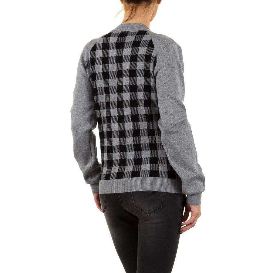 Damenjacke von Moewy Gr. eine Größe - grau