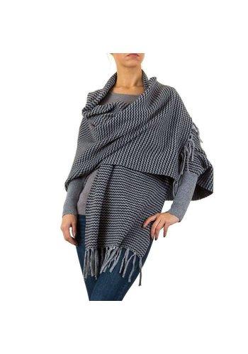 MOEWY Dames vest van Moewy Gr. één maat - grijs zwart