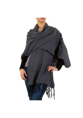 MOEWY Dames vest van Moewy Gr. één maat - zwart grijs