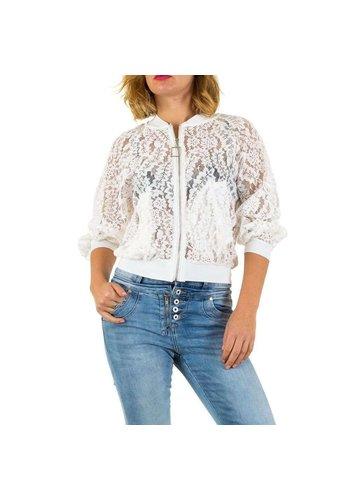 MC LORENE Dames jas van Mc Lorene Gr. een maat - wit
