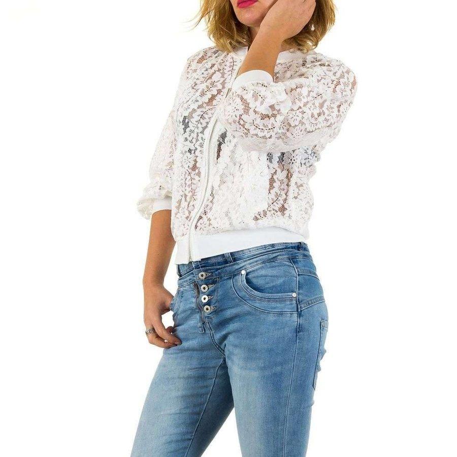 Damenmantel von Mc Lorene Gr. eine Größe - Weiß