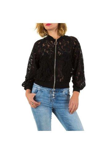 MC LORENE Dames jas van Mc Lorene Gr. één maat - zwart
