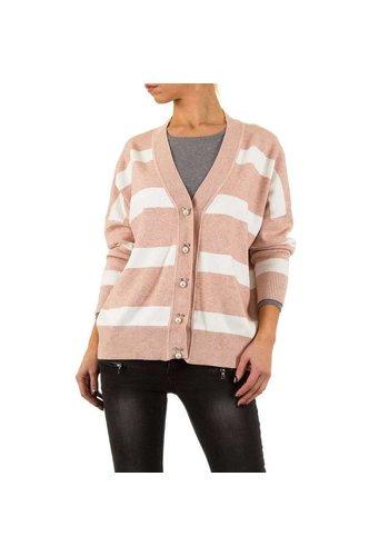 MC LORENE Dames vest van Mc Lorene Gr. één maat - roze