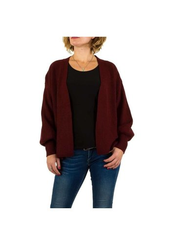 SHK PARIS Cardigan Femme par Shk Paris Gr. taille unique - bordeaux