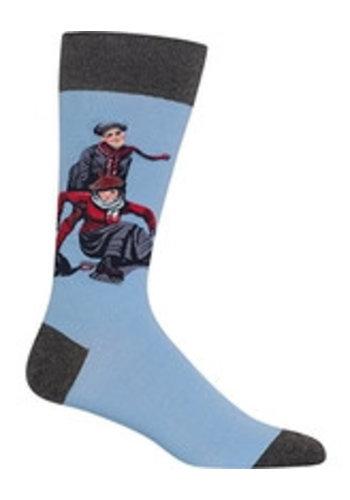 Hotsox Chaussettes pour dames - patins - taille 9-11
