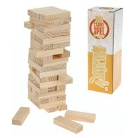 Mini Stapeltoren - hout - 19cm