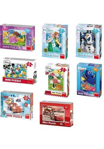 Disney Mini puzzel - sprrokjes - 54 stukjes