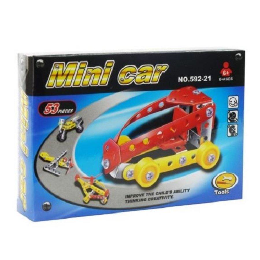 Constructieset metaal auto