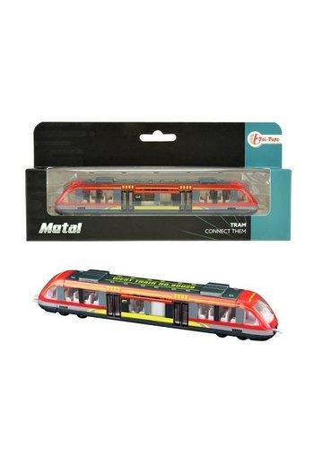 Neckermann Metalen trein in vensterdoos