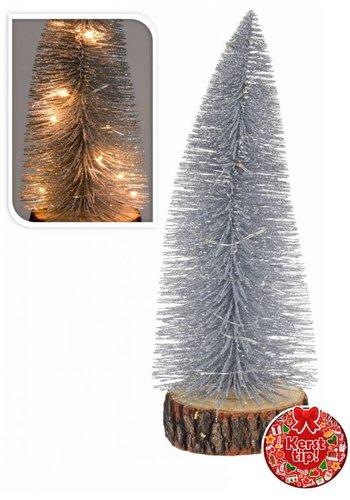 Neckermann Kerstboom met verlichting assorti 38 cm