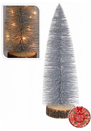 Neckermann Kerstboom met verlichting assorti 28 cm