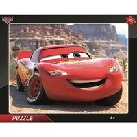 Frame puzzel - Cars Lightning Mcqueen - 40 stukjes
