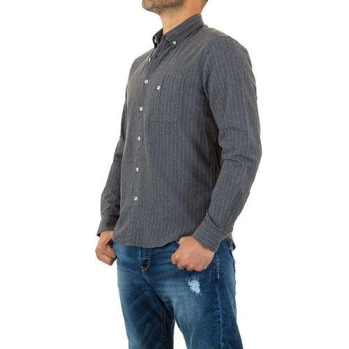 Neckermann Herren Hemd von Y.Two Jeans - lightgrey