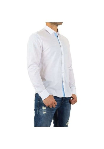 Neckermann Herren Hemd von Y.Two Jeans - white