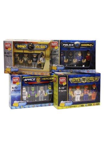 Neckermann Figurines d'action - 4 marionnettes - assorties