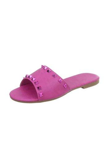 Neckermann Platte sandalen voor dames - perzik
