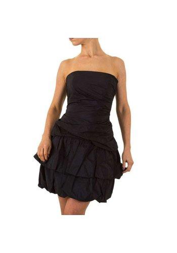 Neckermann Dames Jurk - strapless - zwart