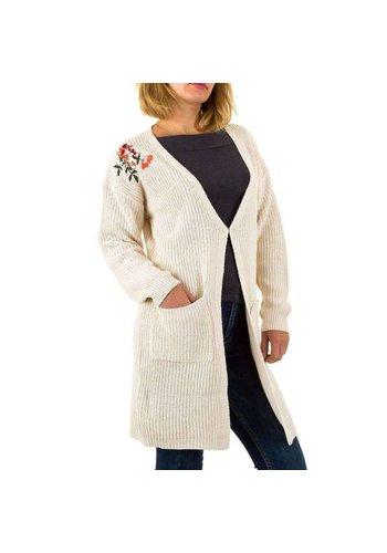 Neckermann Dames vest Gr. een maat - crème
