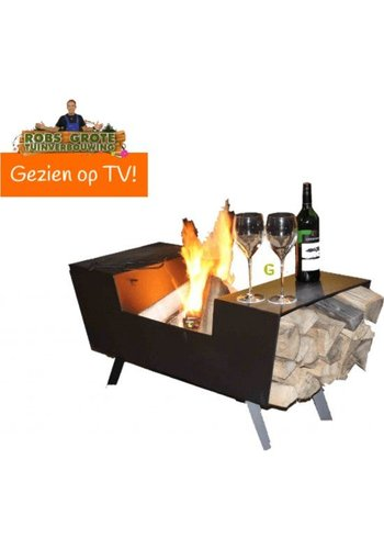 Green-lab Terrashaard - Tafel barbeque - 90x44x44 cm