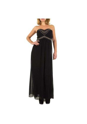 USCO Dames jurk  van Usco - lang model - zwart