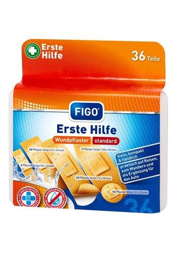 Figo Putze - 5 verschiedene Größen - 36 Stück - kompakt