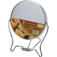 Spiegel dubbelzijdig om 9,5 cm metaal in te stellen