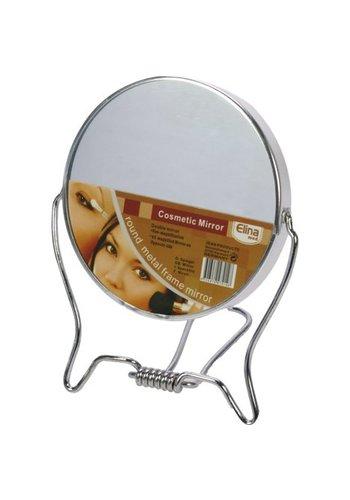 Neckermann Spiegel 2-seitig zum Stellen 9,5cm aus Metall