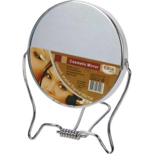 Neckermann Miroir double face 9,5 cm - métal