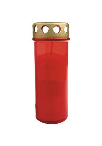 Neckermann Graf Kaars  licht brander No.5 roodgouden deksel XL