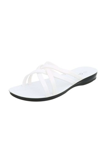 Neckermann Damen Flache Sandalen - white