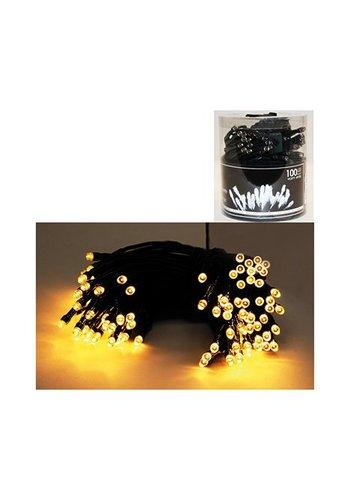 Eco Led Guirlande lumineuse, 100 LED blanc chaud, pour l'intérieur,