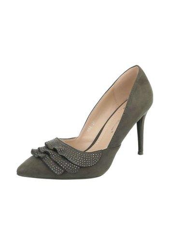 Neckermann Dames schoenen met hoge hak - groen