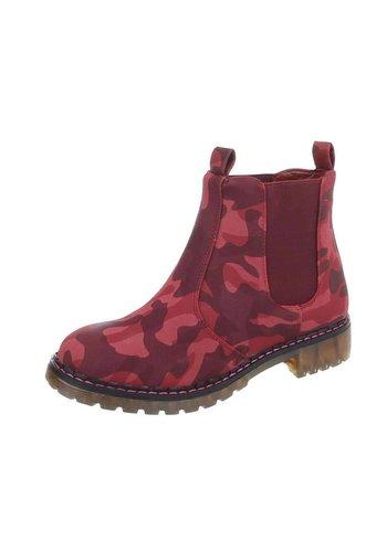 Neckermann Damen Chelsea Boots - red
