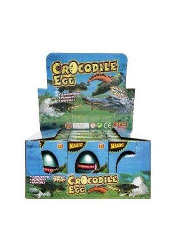 Neckermann Groeiend Krokodil Ei