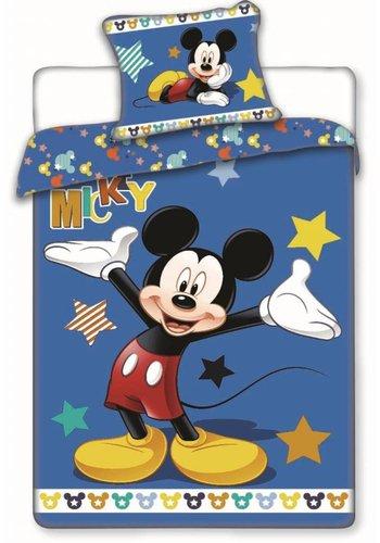 Disney Enveloppe de couette sous licence Mickey Mouse Stars 140 x 200