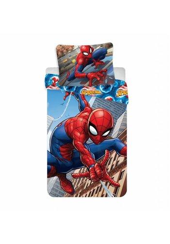 Marvel Enveloppe de couette License Spiderman Climbs 140 x 200