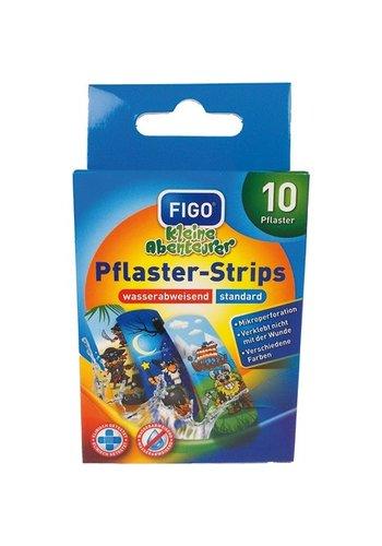 Figo Pleisters - piraat - 10 stuks