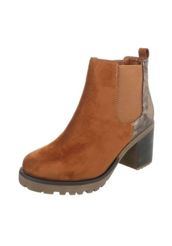Neckermann Damen Chelsea Boots - camel